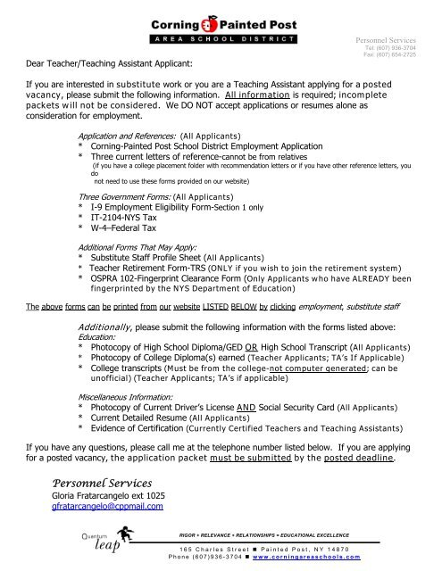 Letter Of Recommendation For Substitute Teachers from img.yumpu.com