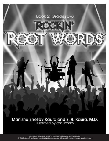 From Rockin' Root Words - Book 2 by Manisha ... - Prufrock Press