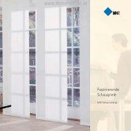 MHZ Hachtel- Infobroschüre Flächenvorhang - TKM ... - TKM Fenster