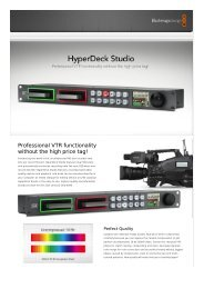 Professional VTR functionality without the high price tag! - que Video