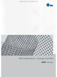 MHZ Insektenschutz Prospekt - Insektenschutzrollo - TKM Fenster