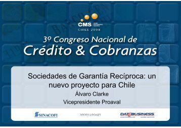 Sociedades de Garantía Recíproca: un nuevo proyecto ... - SINACOFI
