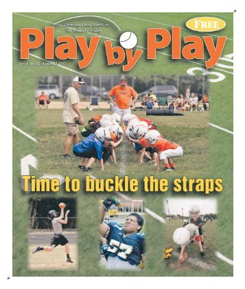 Vol. 8, No. 12, August 27, 2012 - Play by Play
