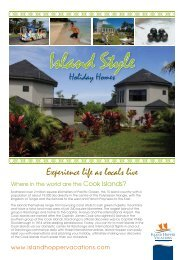 Experience life as locals live - Island Hopper Vacations