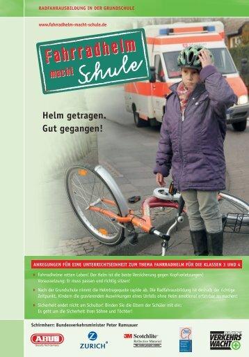 Fahrradhelm macht Schule - Verkehrswacht Medien & Service ...