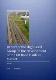 Report of the High Level Group on the Development of ... - Euromerci