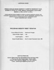 PROGRAM INSENTIF RISET TERAPAN - KM Ristek