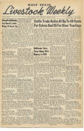 August 16, 1951 - Livestock Weekly!