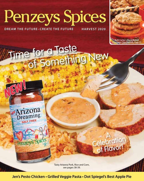 Time for a Taste of Something New - Penzeys Spices