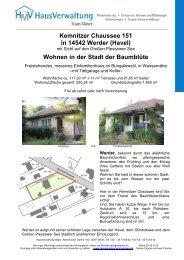 Kemnitzer Chaussee 151 in 14542 Werder (Havel ... - Immobilien.de