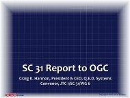 JTC 1/SC 31 relevance to IoT - OGC Network