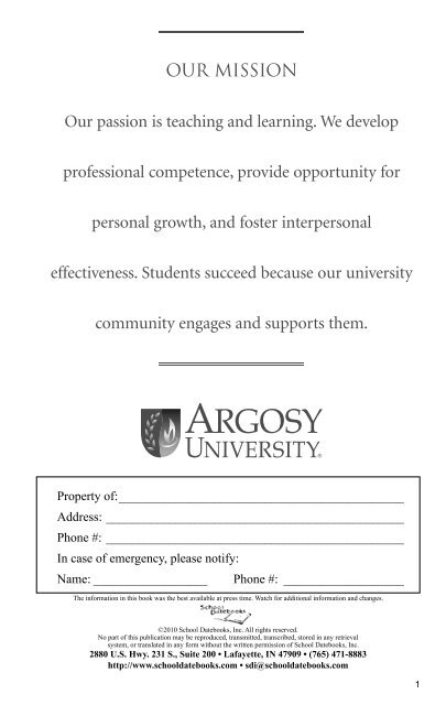guide to the dissertation process at argosy university