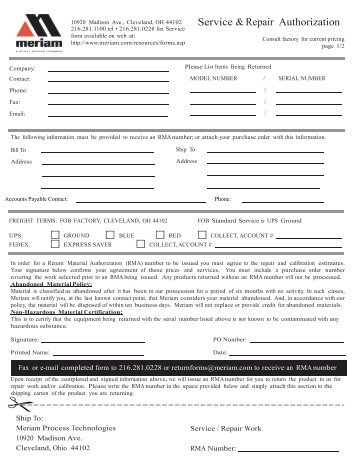 Repair Order Form  Dui Online