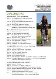 Grüne Albtour 2011 - Beate Müller-Gemmeke