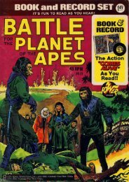 Power Records - Battle for the Planet of the Apes - Hunter's Planet of ...