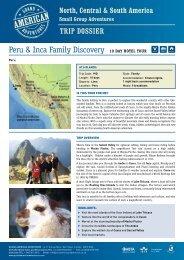 Peru & Inca Family Discovery 10 Day hotel tour - Adventure holidays