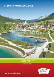prospektdownload - Tourismusverband St. Martin