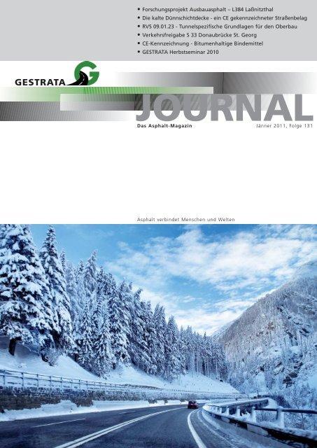 Gestrata Journal Ausgabe 131 (Jänner 2011)