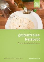 Kochwerte - glutenfreies Reisbrot