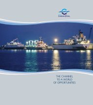 THE CHANNEL TO A WORLD OF OPPORTUNITIES - Port Canaveral