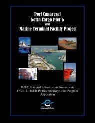 View Narrative - Port Canaveral