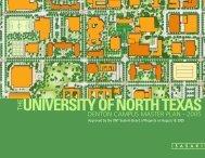 Final Master Plan - University of North Texas