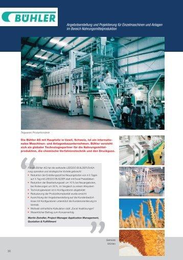 Angebotserstellung und Projektierung für Einzelmaschinen und ...