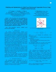 Modeling and Optimization of a Roll-Type Electrostatic Separation ...