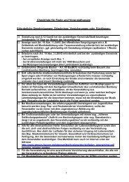 Checkliste für Feste und Veranstaltungen - Frensdorf