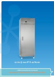 HIGH QUALITY ReFRIGeRATIOn AT ATTRACTIVe PRICeS