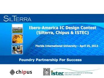 Ibero-America IC Design Contest (Silterra, Chipus & ISTEC)