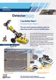 to download Detector Duo technical Brochure - Olson Instruments, Inc.