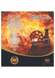 Guide to Oils and Greases - Penrite Oil