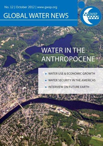 Global Water News No. 12 - GWSP
