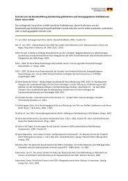 Publikationsliste [320 KB] - Bundesstiftung zur Aufarbeitung der SED ...