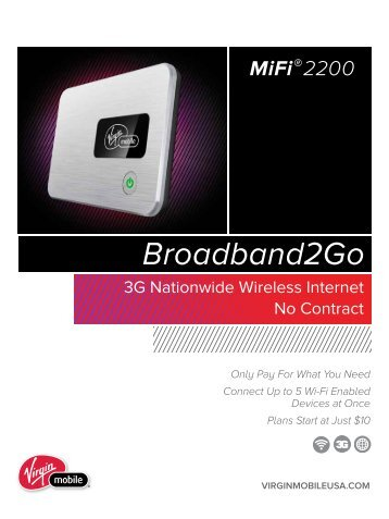 Broadband2go - Virgin Mobile USA