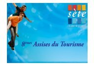 SETE, L'ÎLE SINGULIERE PROMESSE - Office de tourisme de Sète