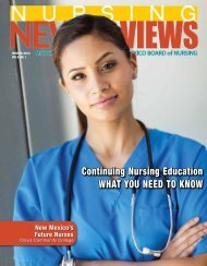 Continuing Nursing Education What You NEEd to KNoW