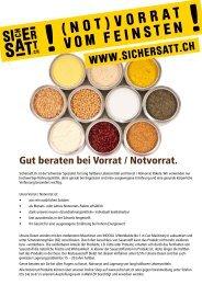 Gesamtprospekt (CH) - SicherSatt AG