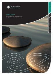 Te Puni Kokiri Annual Report for year ended 30 June 2012