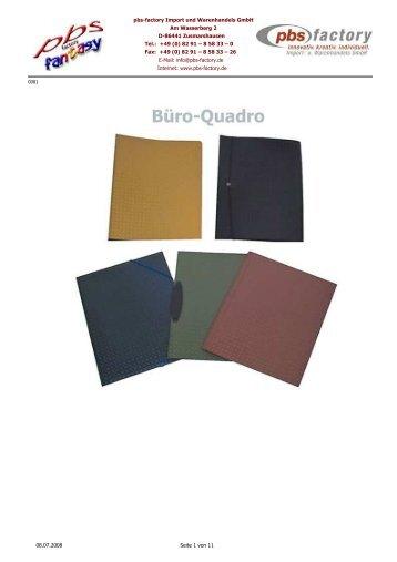 pbs standard 4er pbs factory. Black Bedroom Furniture Sets. Home Design Ideas