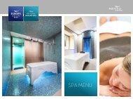Meniu Spa - Ana Hotels