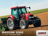 MAXXUM serie - Case IH