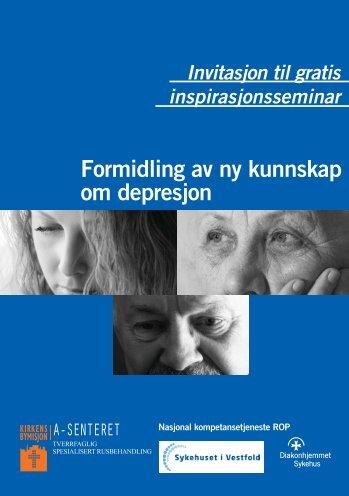 Formidling av ny kunnskap om depresjon - Kirkens Bymisjon