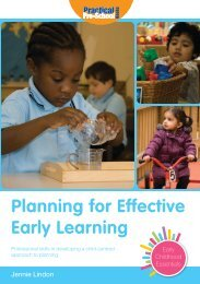 Planning for Effective Early Learning - Practical Pre-School Books