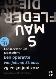 Die Fledermaus - Conservatorium Maastricht