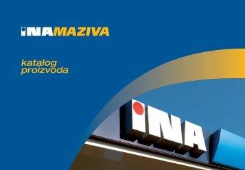 Katalog maziva - Ina