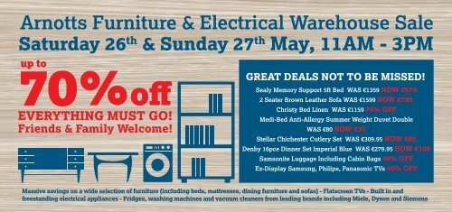 Admirable Arnotts Furniture Electrical Warehouse Sale Esb Retired Spiritservingveterans Wood Chair Design Ideas Spiritservingveteransorg