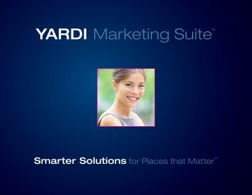 Marketing Suite Booklet - Yardi