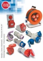 Clavijas y tomas industriales - Protección IP-44/67